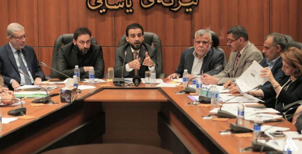 البرلمان العراقي يبحث مع رؤساء الكتل النيابية بنود قانون الانتخابات